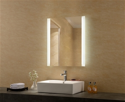 Freedom lighted mirror