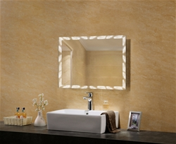 Aphrodite lighted mirror