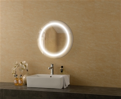 Cosy lighted mirror