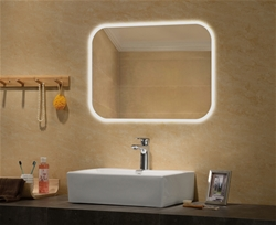 Hecate lighted mirror